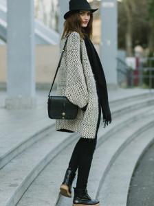 On the street, Simona Bitiusca