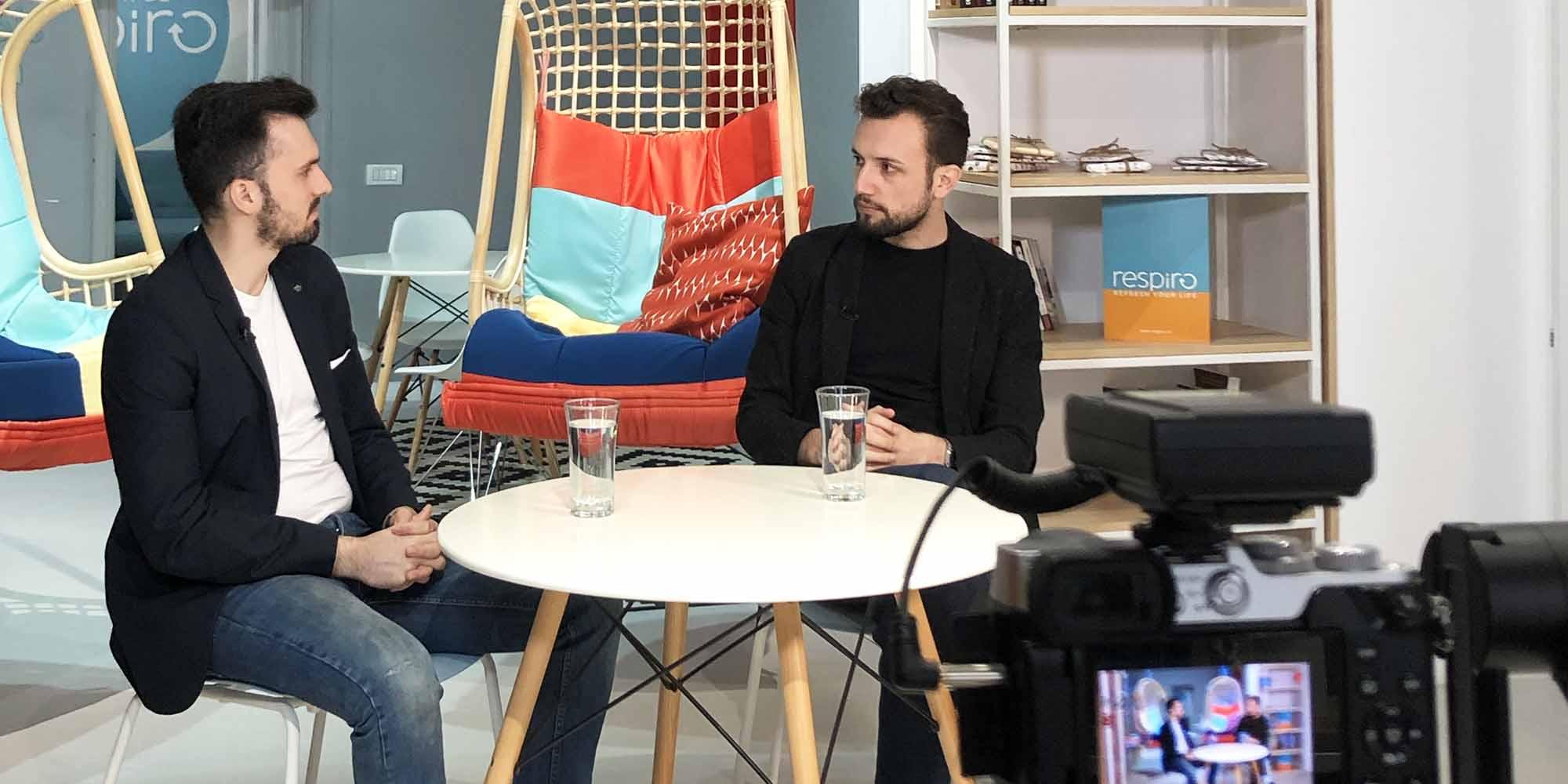Interviu Eduard Mariut si Rares Lazar